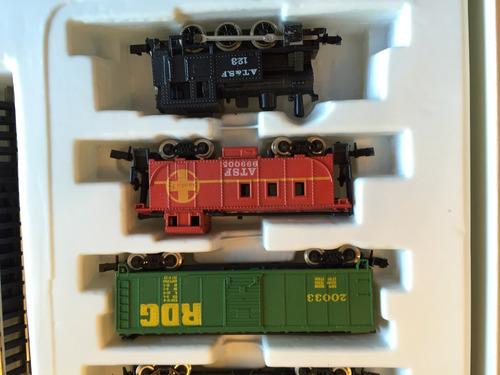set inicial escala n dos lcomotoras