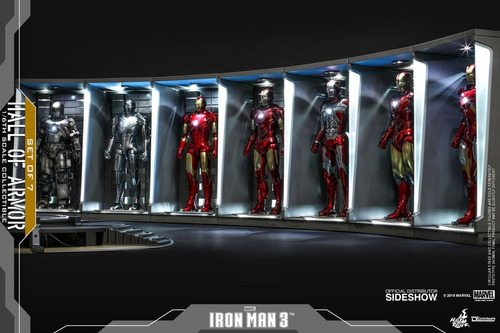 set ironman hall of armor  hot toys fpx