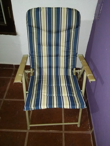 set jardin mesa + 4 sillas plegables + sombrilla