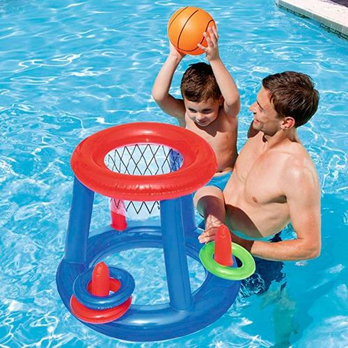 set juego basketball bestway 52190 incluye pelota pc