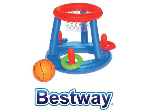 set juego basketball bestway (6627)