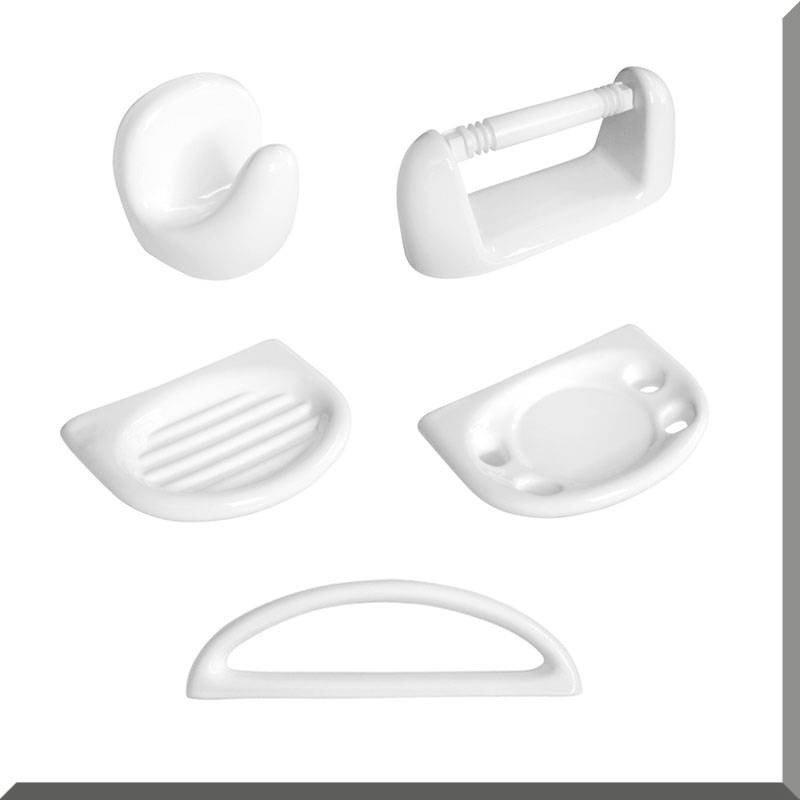 set juego de accesorios para baño sena 5 piezas daccord loza. Cargando zoom. 80afaf614037