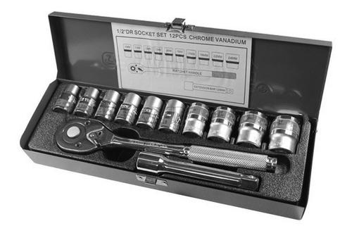 set juego de dados+chicharra+caja 25cm 12 piezas  ml2650