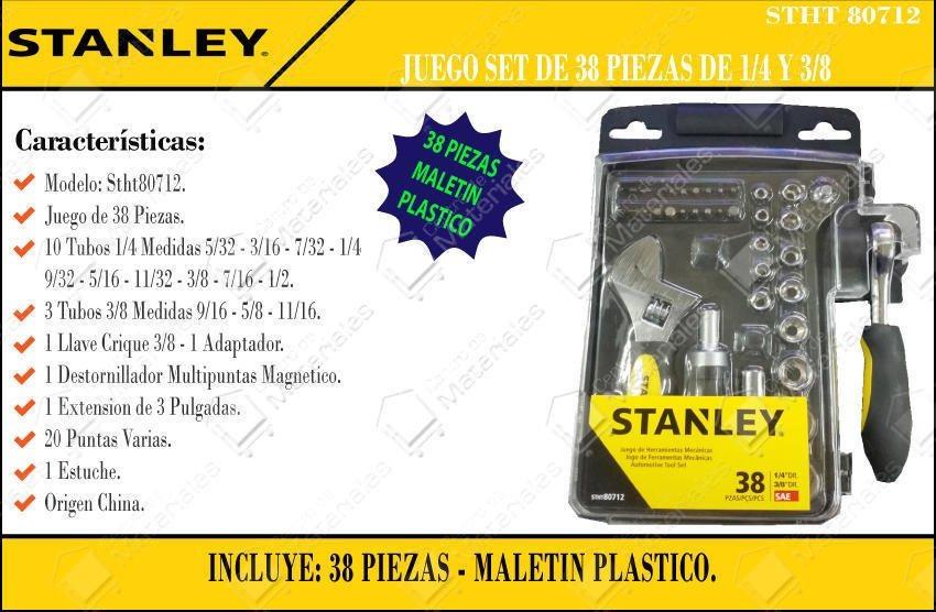 set juego de herramientas stanley stht80712-840 1 4 3 8 38pz. Cargando zoom. 7deea3325ae4