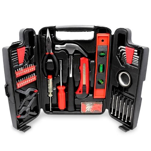 set juego herramientas maletin 131 piezas + 6 cuotas