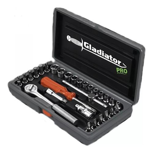 set juego kit tubos accesorios 1/4'' 29pcs bocallaves puntas