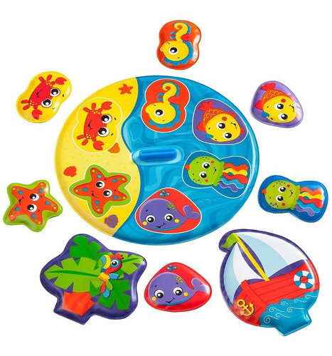 set juego para el agua flooaty boat playgro babymovil