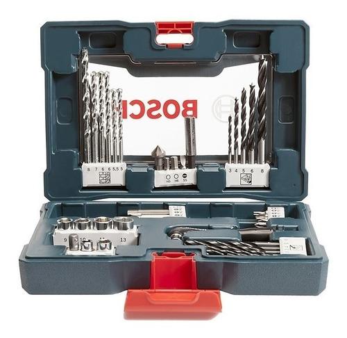 set juego v line mechas tubos y puntas bosch 41 piezas