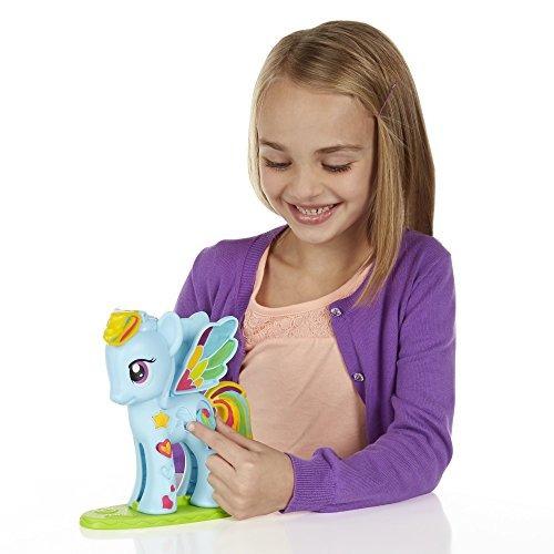 set juegos estilo salón play-doh my little pony rainbow dash