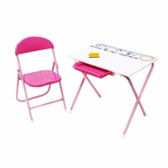 set kinder tablero prodehogar color rosado