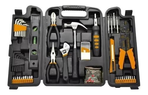 set kit herramientas lusqtoff 129 piezas alicate nivel llave