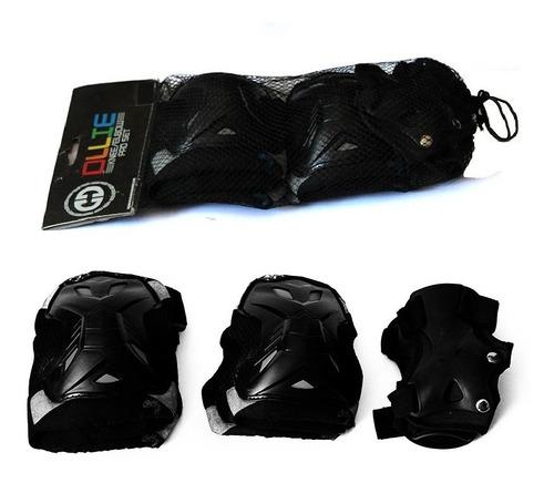 set kit protección ollie niños cod, rodillera y muñeq tda sa