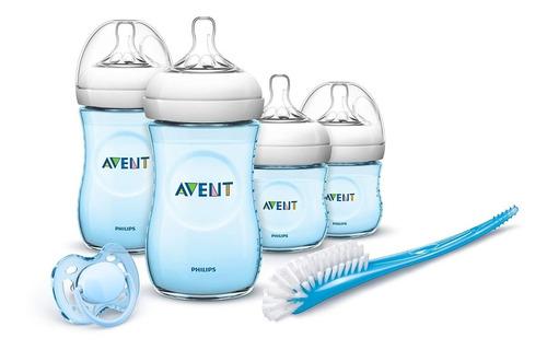 set kit teteros biberon avent natural anti cólicos bebe