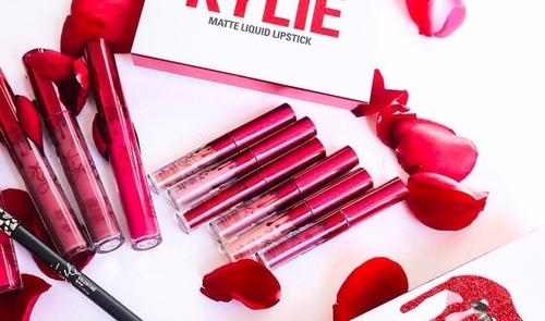 set kylie valentine 6 labiales original envio gratis msi