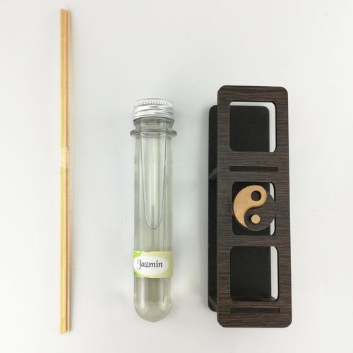 set lámpara de sal piedra del himalaya + difusor con esencia