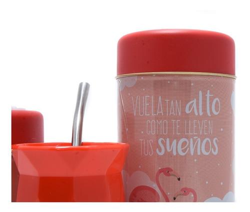 set latas vertedoras yerbera/azucarera + mate cuotas