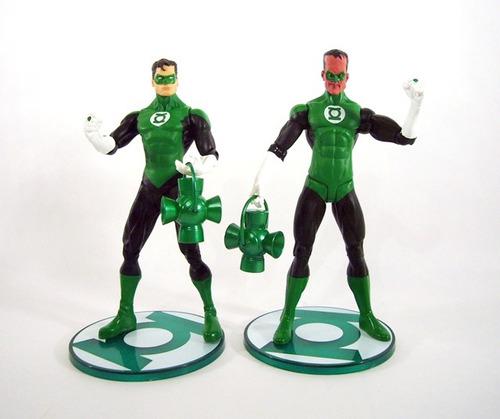 set linterna verde y siniestro +comics(en ingles) coleccion