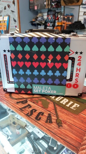 set maleta de poker portátil casaideas