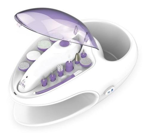 set manicuria y pedicuria gama nails spa con hidro y secador