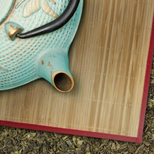 set mantel individual  bambú x 6 unidades - envío gratis!