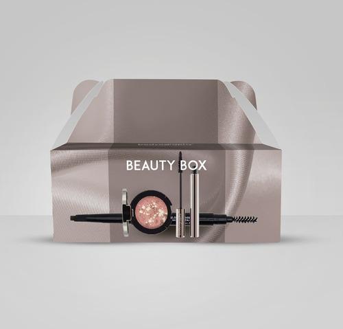 set maquillaje:sombra/máscara/delineador cejas bodyography