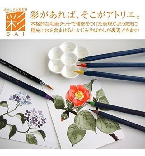 set marcadores acuarela de akashiya ca200 japon set arte