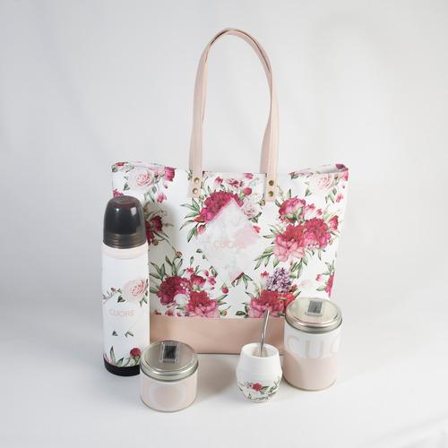set matero completo para mujer con bolso cardaccio cuore