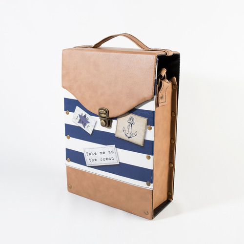 set matero completo para viaje cardaccio marinera
