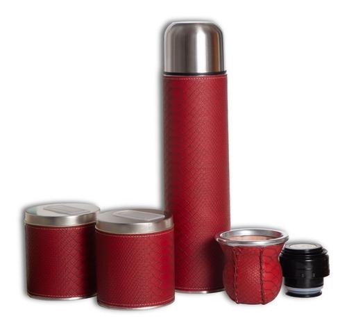 set matero equipo matero bolso termo latas mate, set de mate