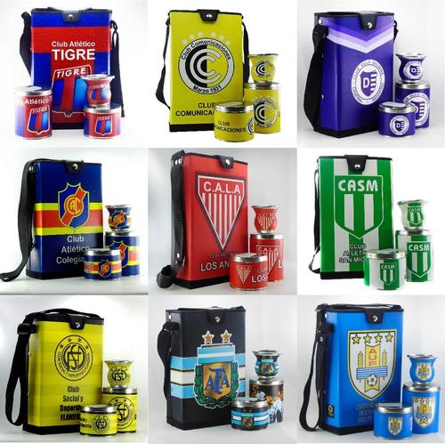 set matero futbol argentino mas de 100 diseños a b c d internacionales sp