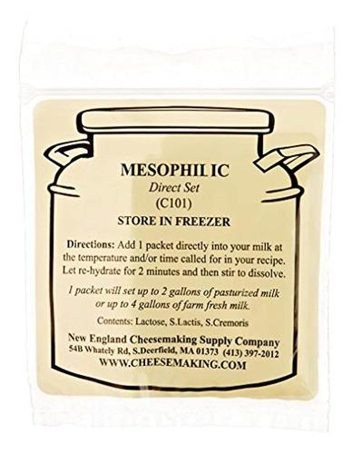 set mesofílico de cultivos de queso, pack de 5