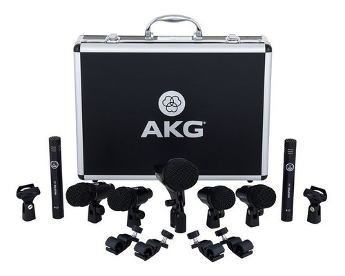 set microfonos bateria akg drum set session 1 super oferta¡¡