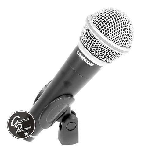 set microfonos samson r21 3 unidades maletin pipetas gtia