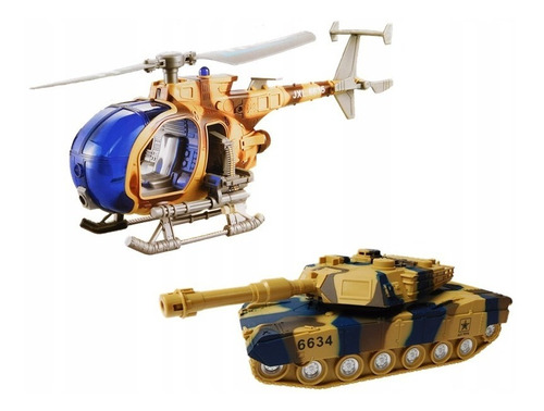 set militar juguete special force helicoptero tanque cadia