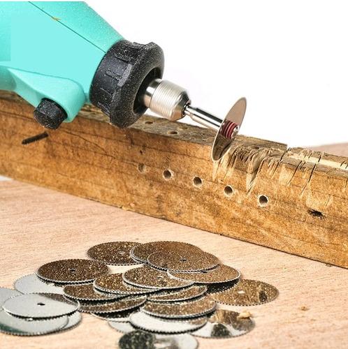 set mini discos sierra dremel madera plastico