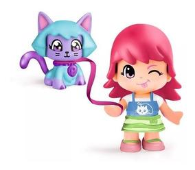 Pp Mascota Pinypon Juguete Set Y Juego Muñeca Niñas Mini wP80knO