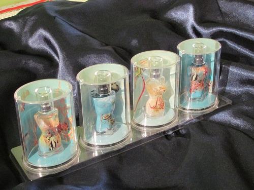 set miniaturas perfumes jp gaultier 4 pçs