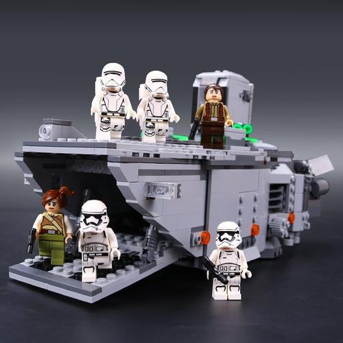 set minifiguras star wars, 845 piezas importado, lepin