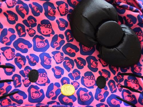set mochila y bolsa  hello kitty by ruz nueva y originales