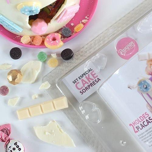 set molde cake sorpresa - torta piñata parpen
