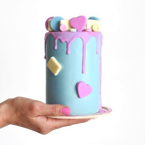 set moldes mini cake sorpresa - torta piñata 10x14 parpen
