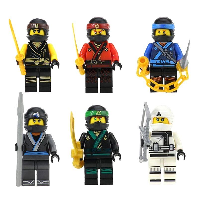 Set mov cole zane kai jay lloyd ninjago compatible bloques - Ninjago kai jay zane cole lloyd ...
