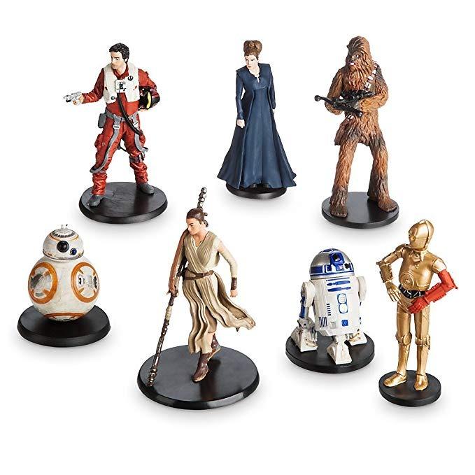 Set Munecos Personajes La Resistencia Star Wars El Desperta