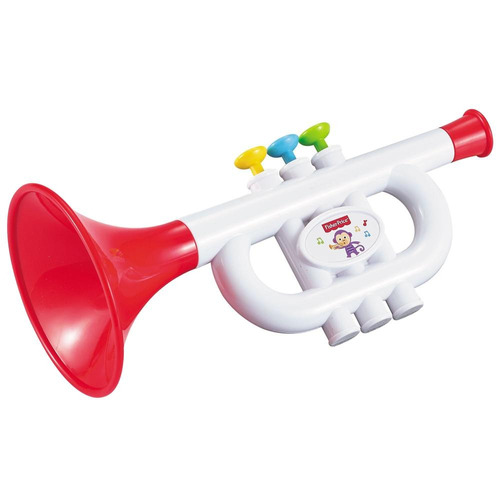 set musical flauta y trompeta fisher price
