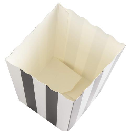set of 100 popcorn favor boxes - 20oz mini paper popcorn and