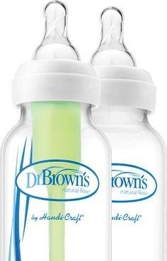 set options recién nacido dr.brown's standar 5 biberones