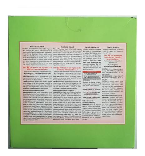 set palmer anti estrias embarazo palmer's nueva presentación