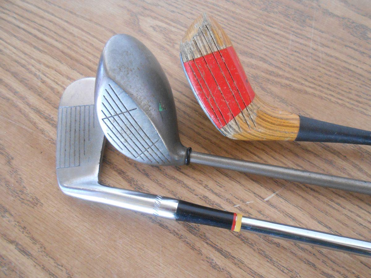 set de palos de golf maderas fierros putter b473 en mercado libre. Black Bedroom Furniture Sets. Home Design Ideas