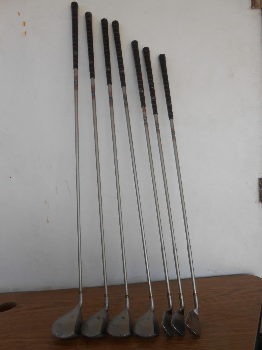 set de palos de golf maderas fierros putter b472 en mercado libre. Black Bedroom Furniture Sets. Home Design Ideas