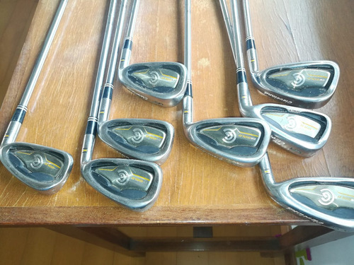 set palos hierros golf cleveland cg gold uniflex